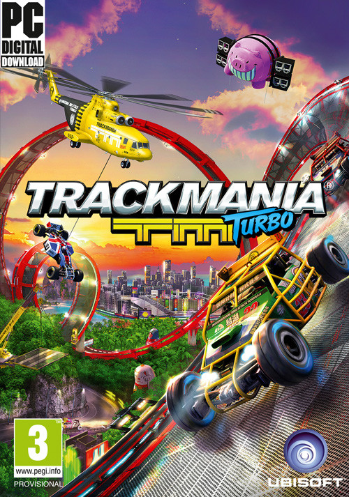 Trackmania Turbo - Cover