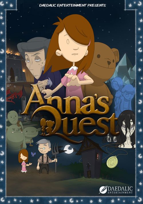 Anna's Quest - Cover / Packshot