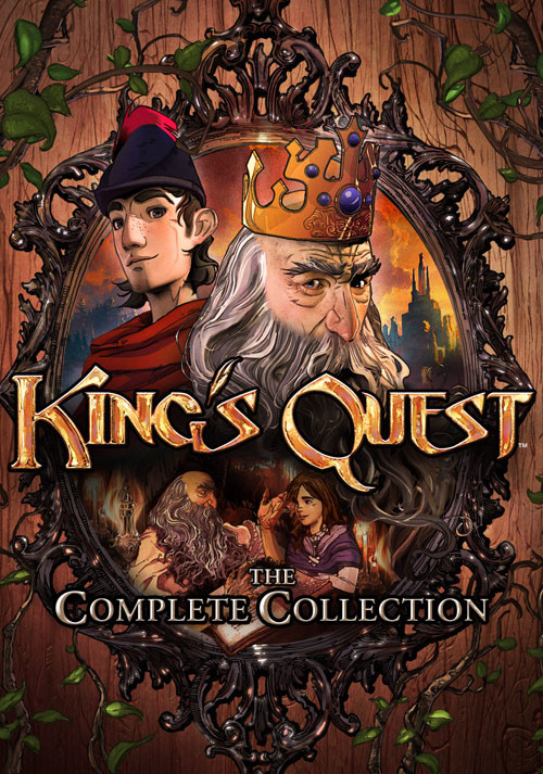 King's Quest: The Complete Collection - Cover / Packshot