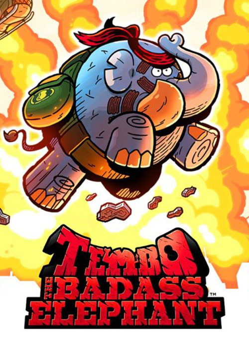 Tembo The Badass Elephant - Cover / Packshot