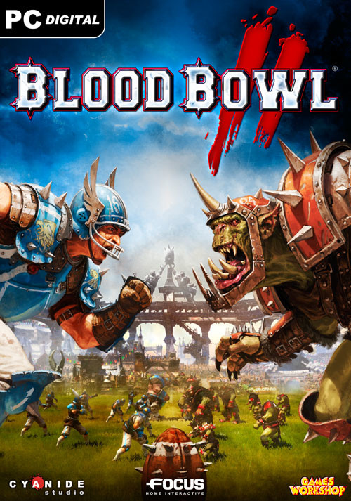 Blood Bowl 2 - Cover
