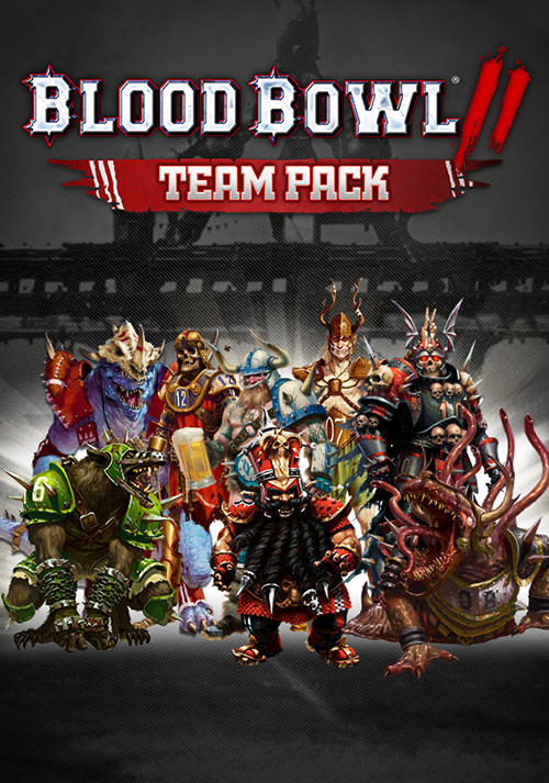 Blood Bowl 2 Team Pack - Cover / Packshot