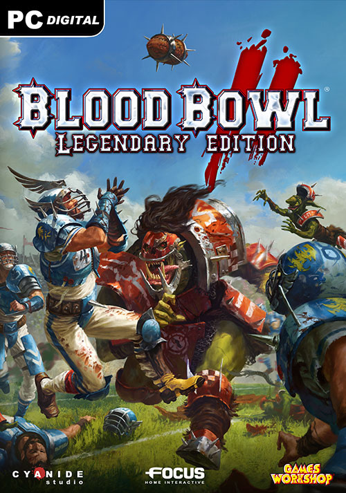 Blood Bowl 2: Legendary Edition - Cover