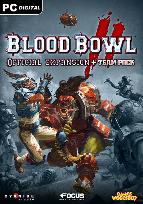 Blood Bowl 2 - Official Expansion + Team Pack - Cover