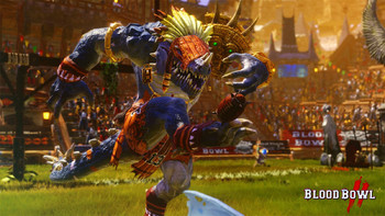 Screenshot1 - Blood Bowl 2 - Lizardmen DLC