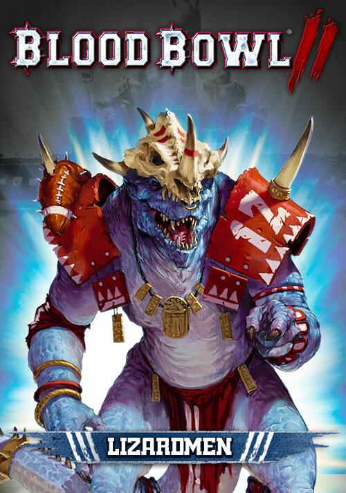 Blood Bowl 2 - Lizardmen DLC - Cover