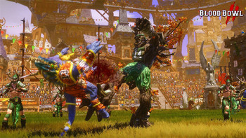 Screenshot3 - Blood Bowl 2 - Wood Elves DLC