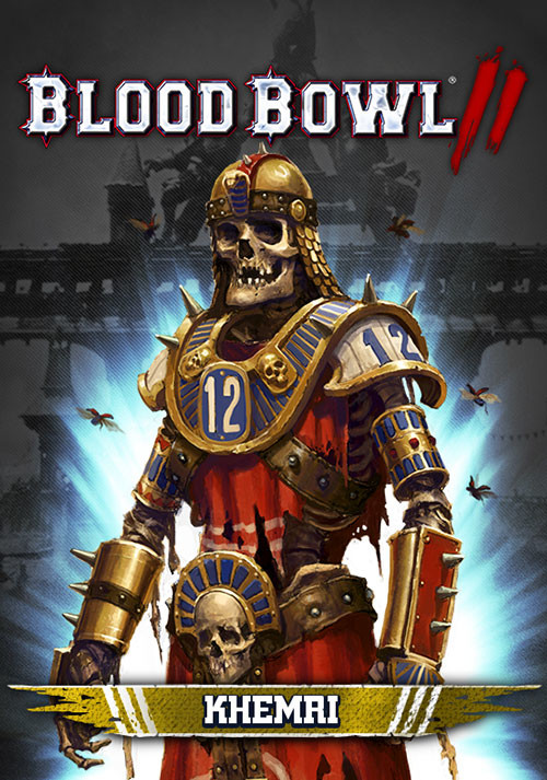 Blood Bowl 2 – Khemri DLC - Cover / Packshot