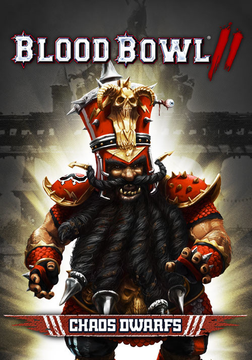 Blood Bowl 2 – Chaos Dwarfs DLC - Cover
