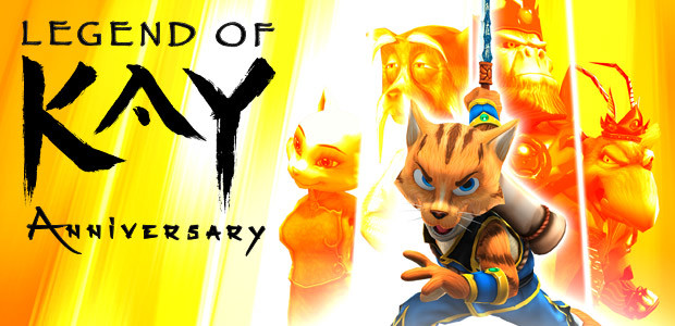 Legend of Kay Anniversary - Cover / Packshot