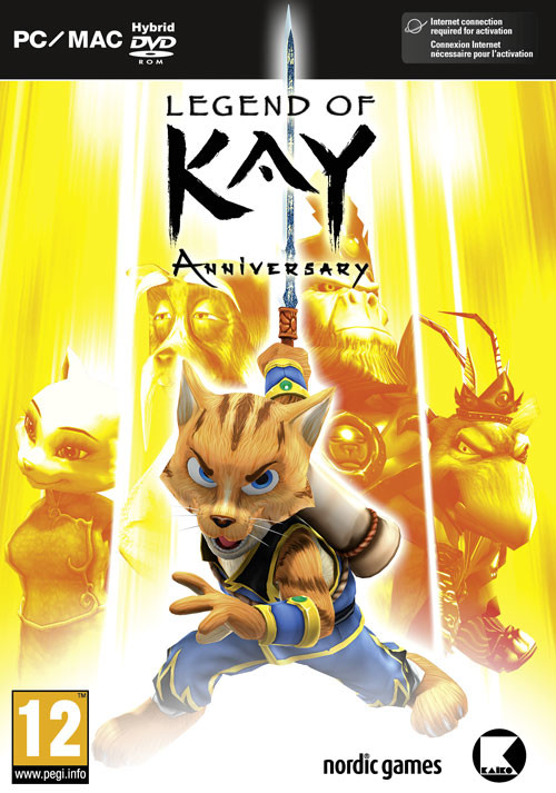 Legend of Kay Anniversary - Cover / Packshot