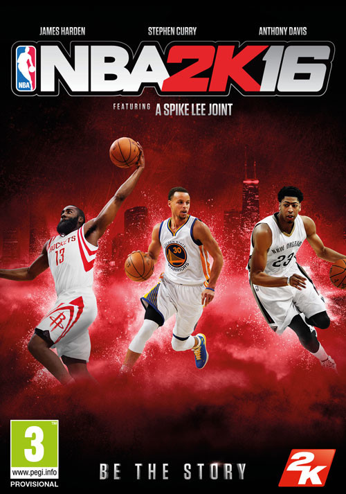 NBA 2K16 - Packshot