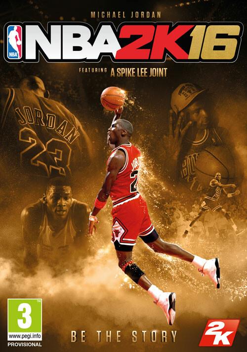NBA 2K16 Michael Jordan Special Edition - Cover