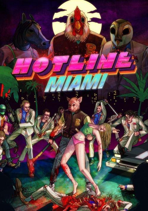 Hotline Miami - Cover / Packshot