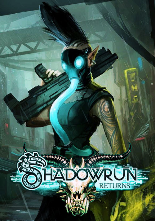 Shadowrun Returns - Cover / Packshot