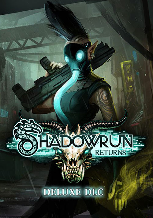 Shadowrun Returns Deluxe DLC - Cover