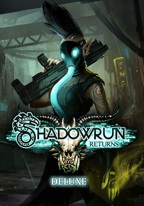 Shadowrun Returns Deluxe - Cover