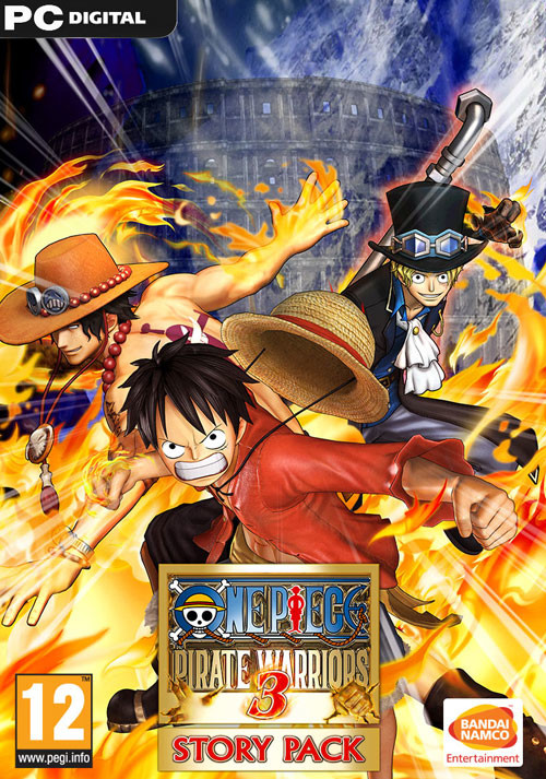 One Piece Pirate Warriors 3 Story Pack - Cover / Packshot