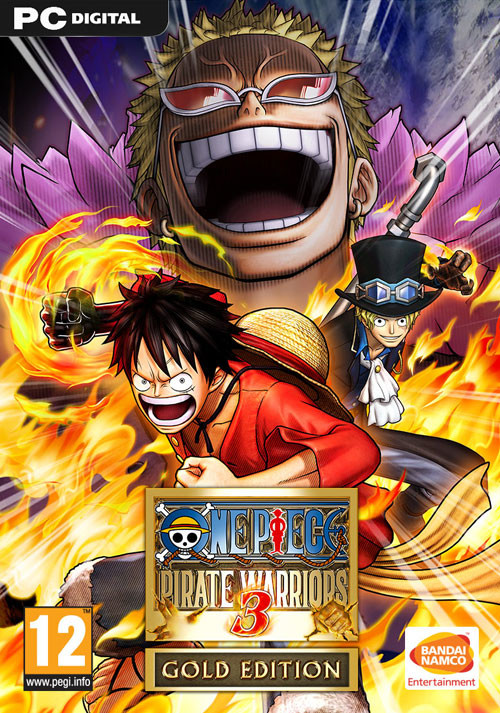 One Piece Pirate Warriors 3 Gold Edition - Packshot