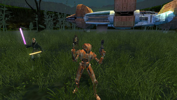 Screenshot5 - Star Wars: Knights of the Old Republic II (Mac)