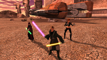 Screenshot7 - Star Wars: Knights of the Old Republic II (Mac)