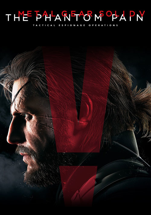 Metal Gear Solid V: The Phantom Pain - Cover