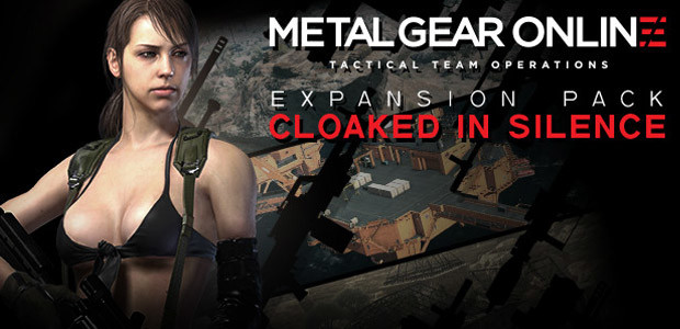 """Metal Gear Online Expansion Pack """"CLOAKED IN SILENCE"""" - Cover / Packshot"""