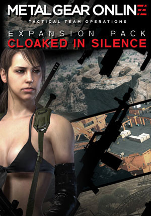 "Metal Gear Online Expansion Pack ""CLOAKED IN SILENCE"" - Cover"