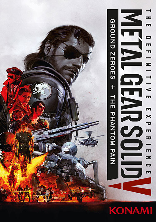Metal Gear Solid V: The Definitive Experience - Cover