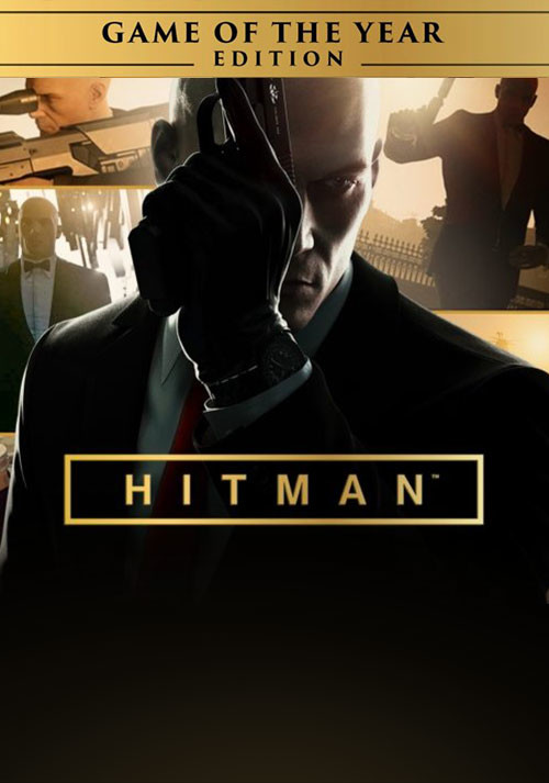 HITMAN - Game of the Year Edition - Cover