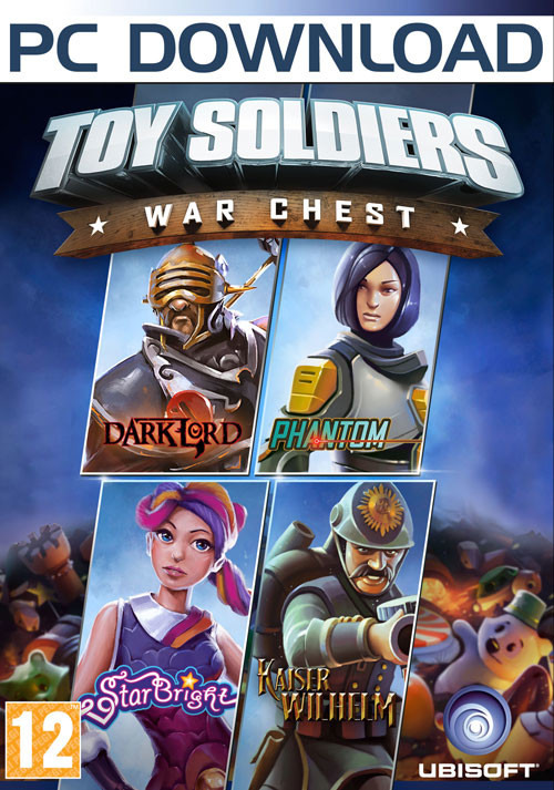 Toy Soldiers: War Chest - Packshot