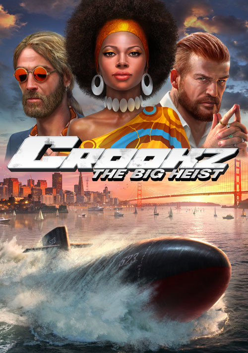 Crookz - The Big Heist - Cover / Packshot