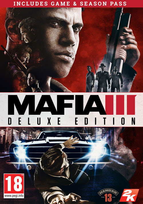 Mafia III Digital Deluxe - Cover / Packshot