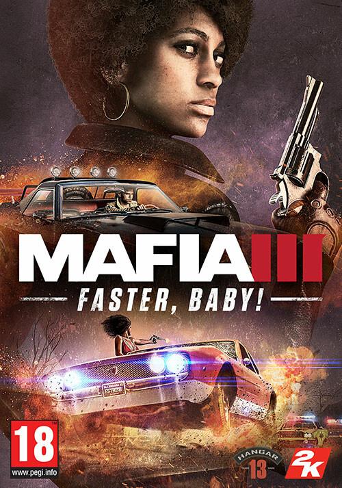 Mafia III - Faster, Baby! - Cover