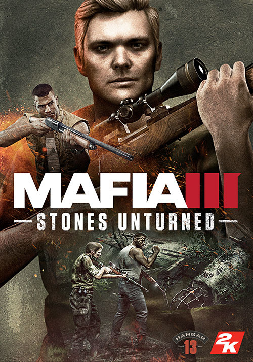 Mafia III - Stones Unturned - Cover / Packshot
