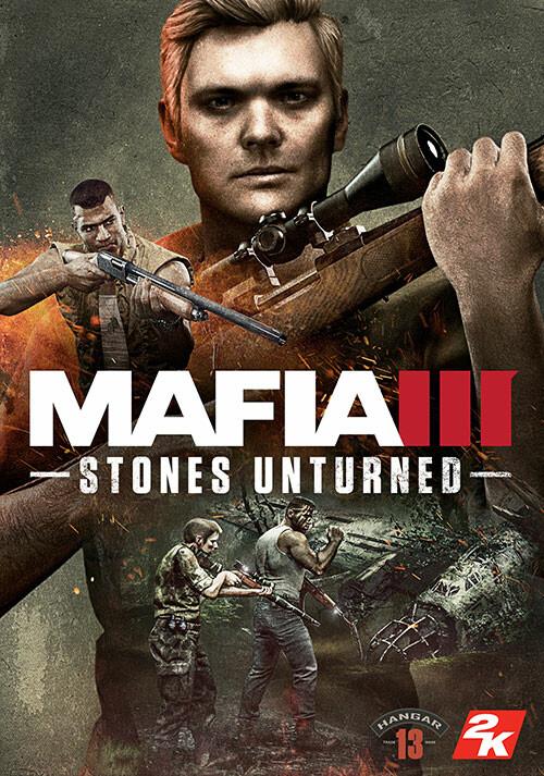 Mafia III - Stones Unturned - Cover