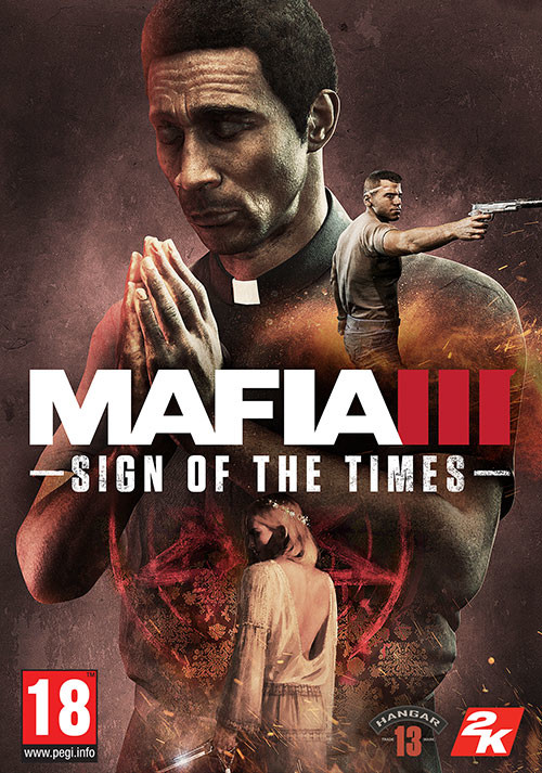 Mafia III - Sign of the Times  - Packshot