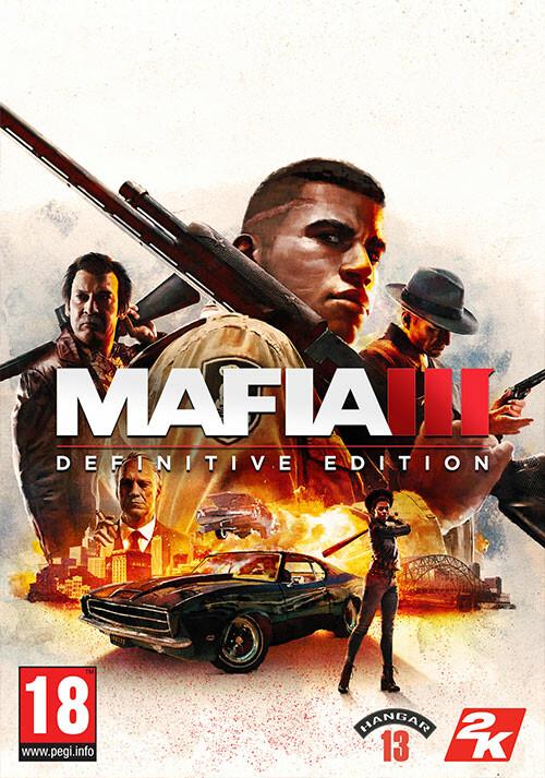 Mafia III: Definitive Edition - Cover / Packshot