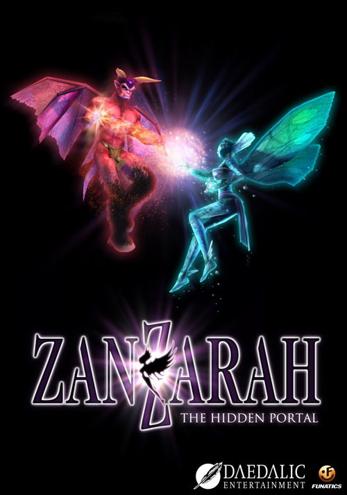 Zanzarah: The Hidden Portal - Cover / Packshot