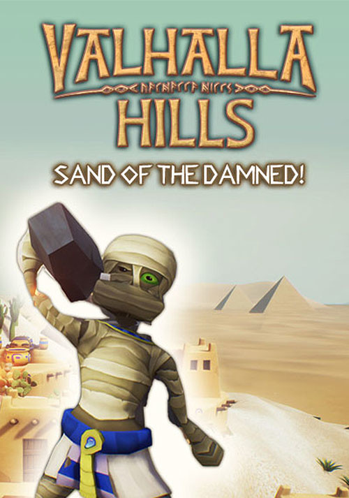 Valhalla Hills – Sands of the Damned DLC - Cover