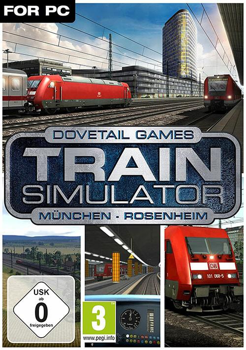 Train Simulator: Munich - Rosenheim Route Add-On - Cover / Packshot