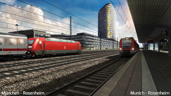 Screenshot8 - Train Simulator: Munich - Rosenheim Route Add-On