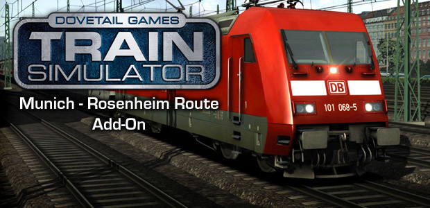 Train Simulator: Munich - Rosenheim Route Add-On - Cover / Packshot
