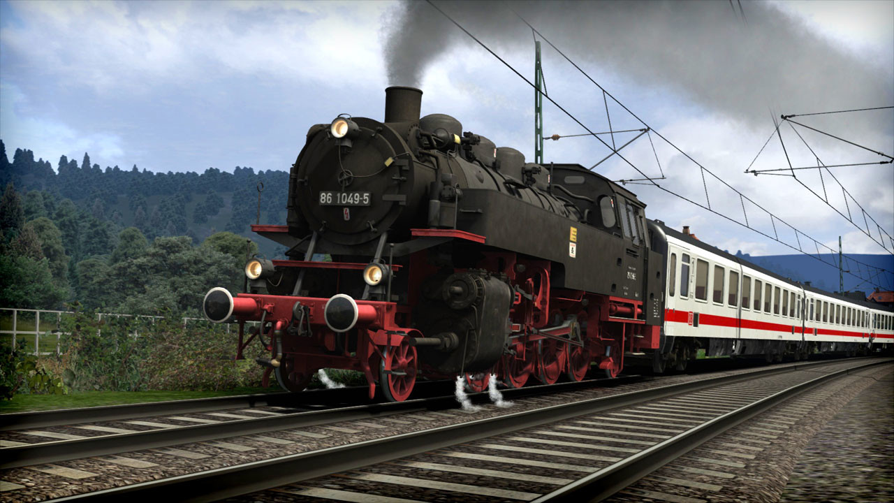 train simulator dr br 86 loco add on steam cd key f r. Black Bedroom Furniture Sets. Home Design Ideas