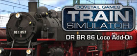 Train Simulator: DR BR 86 Loco Add-On