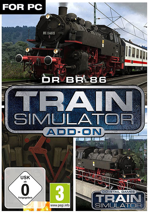 Train Simulator: DR BR 86 Loco Add-On - Cover / Packshot