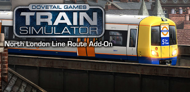 Train Simulator: North London Line Route Add-On - Cover / Packshot