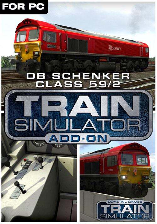 Train Simulator: DB Schenker Class 59/2 Loco Add-On - Cover / Packshot