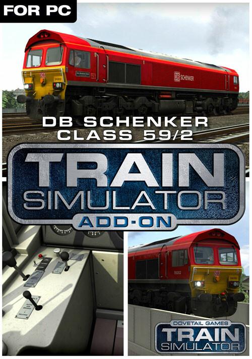 Train Simulator: DB Schenker Class 59/2 Loco Add-On - Cover