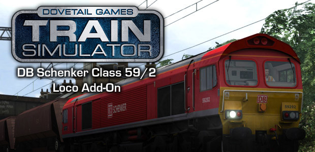 Train Simulator: DB Schenker Class 59/2 Loco Add-On - Cover / Packshot